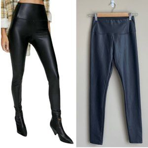 NWT 7 For All Mankind Vegan Faux Leather Leggings